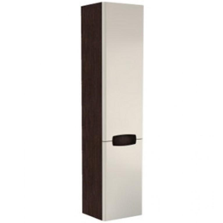 REKORD шкафчик боковой,высокий 33*160*29,2 см белый глянец/венге (пол.)