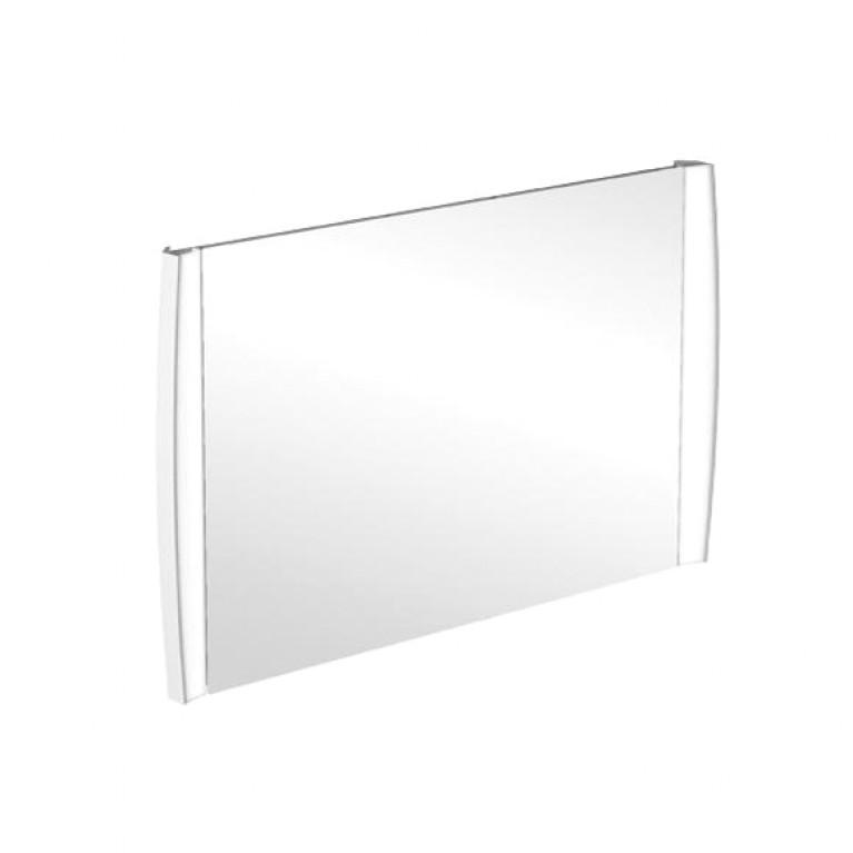 AVEO NEW GENERATION зеркало 143,5*75*6,5см с подсветкой, 2 светодиодные лампы, цвет Белый глянцевый лак, фото 1