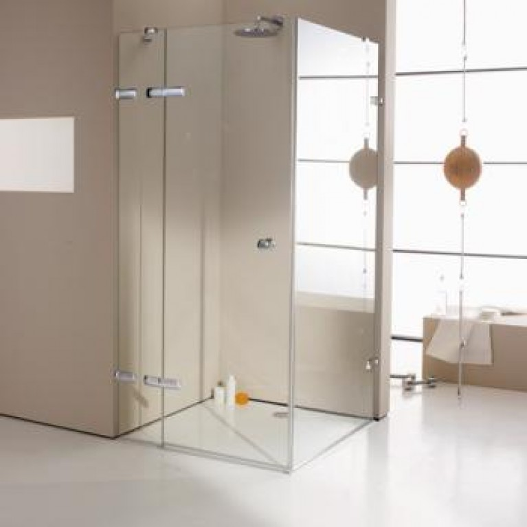ENJOY ELEGANCE распашная дверь с неподв сег-м 140*200 и 90*145 (неподвижный сегмент должен быть подрезан снизу), фото 1