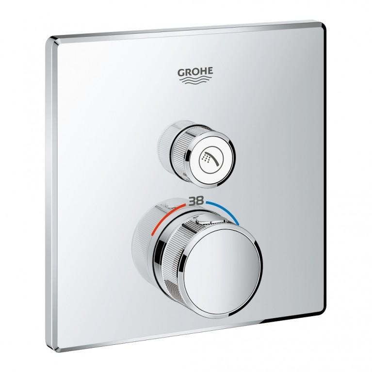 Grohtherm SmartControl Термостат для душа, встраиваемый без подключения шланга