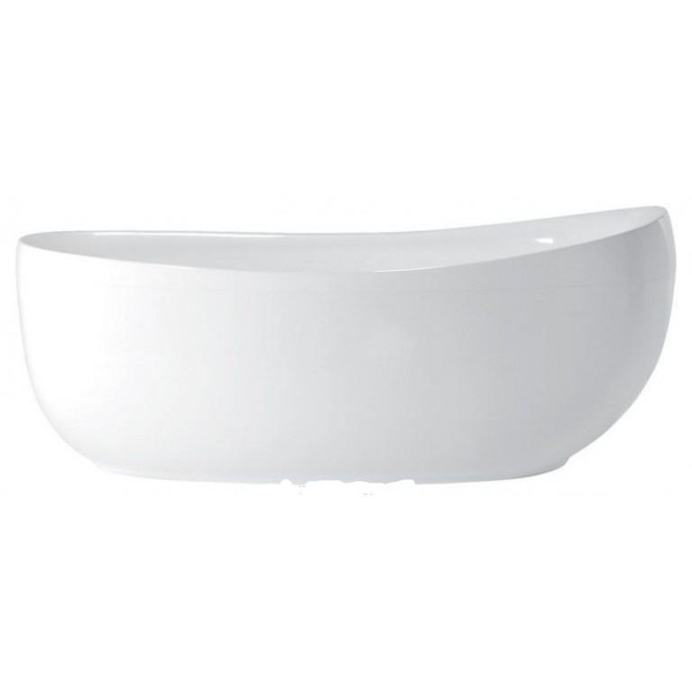 """FUTURE ванна  180 X 85 со сливом-переливом """"klick"""" (хром)"""