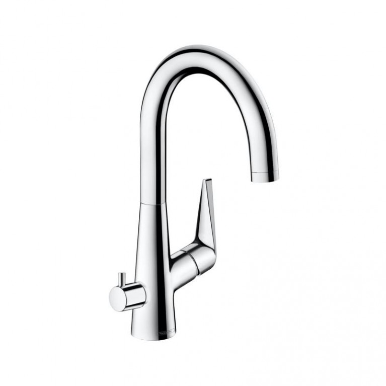 Talis S Смеситель для кухни 220, однорычажный, с запорным вентилем для посудомоечной машины, ½', хром