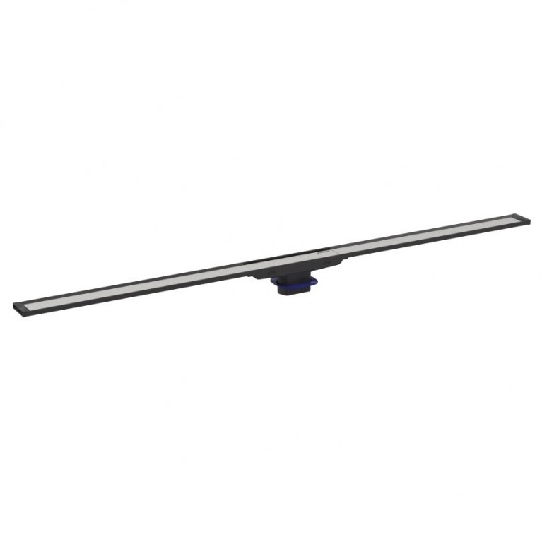 Geberit дренажный канал CleanLine20, L30-90cm, полированный/матовый металл