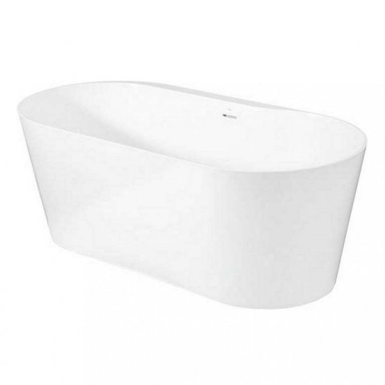 RAINA ванна 160*80см, из материала искусственный камень Stonex, с сифоном в комплекте