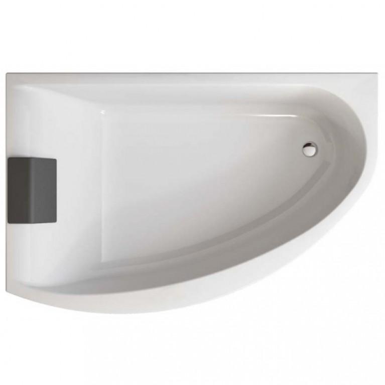 MIRRA ванна 170*110  см,  асимметричная  ванна  левая, без панели (гидром.система Эконом), фото 1