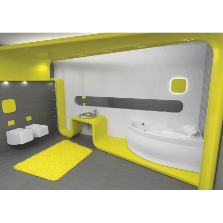 EUROPA ванна 170*115см, с системой гидромассажа SMART 2, правая PHAD110ST2C0000, фото 2
