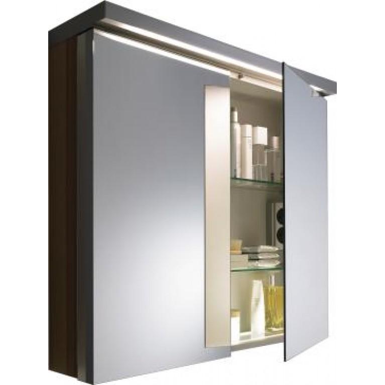 FOGO зеркальный шкафчик 80*74см (цвет американский орех), фото 1