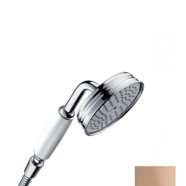 Axor Ручной душ с белой рукояткой, (полированное красное золото)