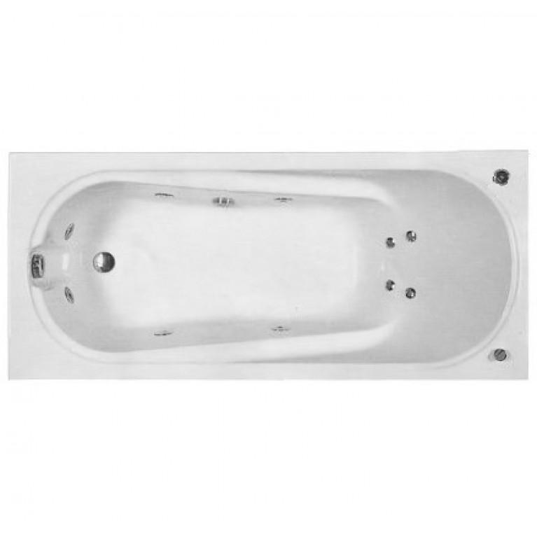 COMFORT ванна 180*80см  без панели ( гидром. система эконом), фото 1