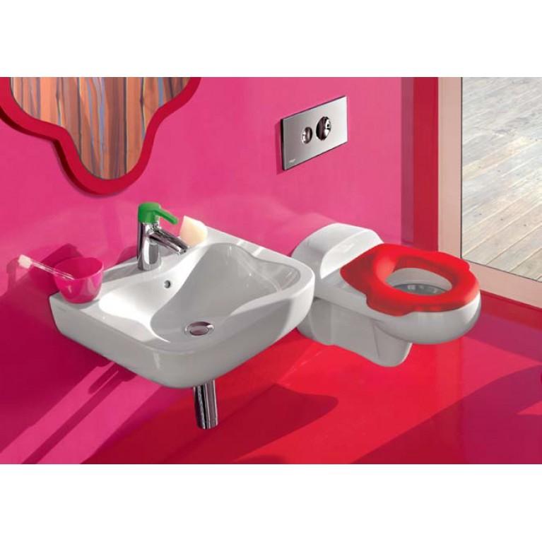 FLORAKIDS сиденье эргономичное, цвет белый с красным H8910320620001, фото 2