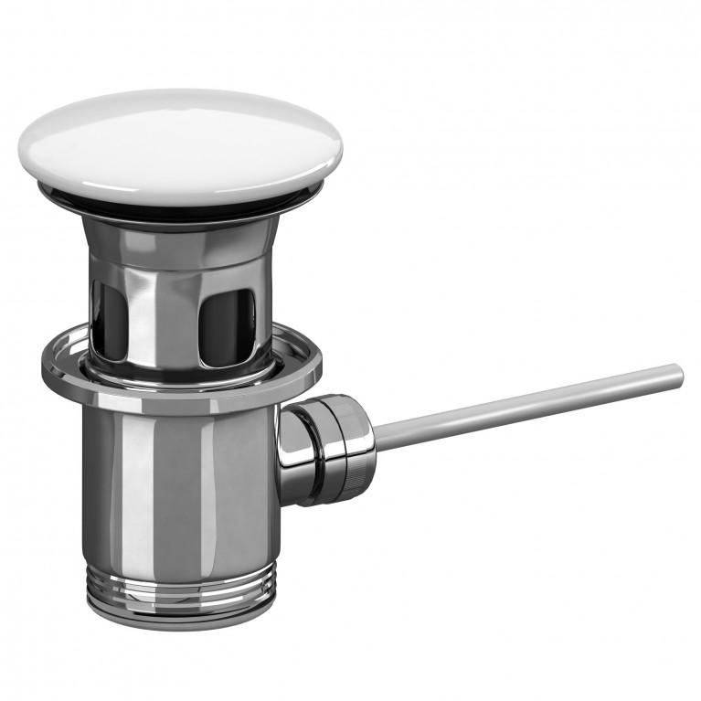 VILLEROY запираемый донный клапан, хром