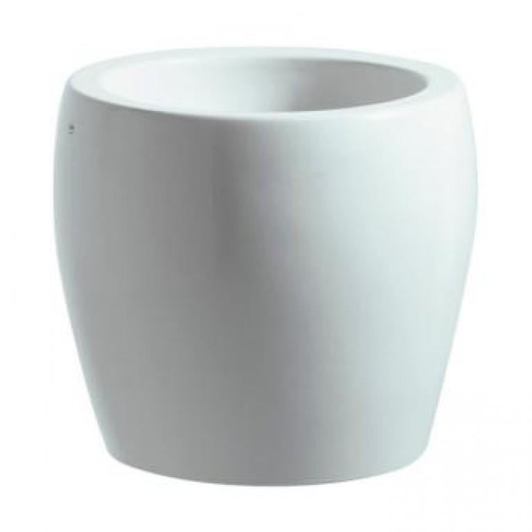 ALESSI ONE умывальник-чаша, без отверст. под смеситель, цвет белый LCC, фото 1