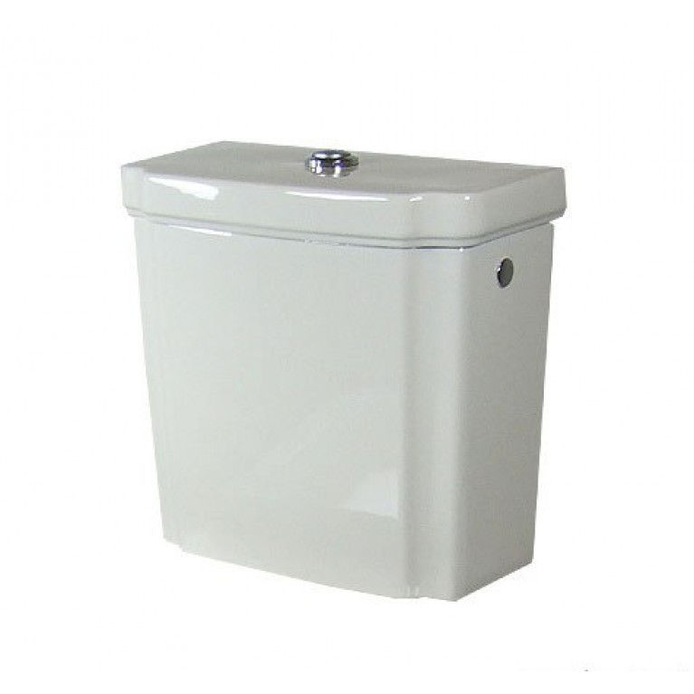 HOMMAGE бачок сливной, цвет ярко белый ceramicplus/латyнь