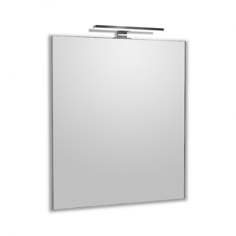 Зеркало прямоугольное 50*60см с LED светильником