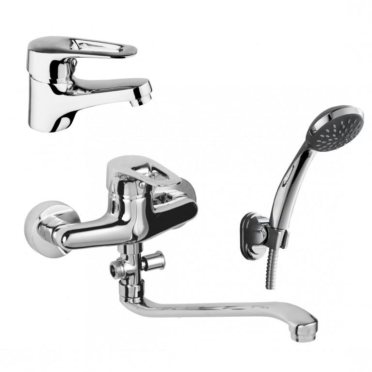 NARCIZ набор смесителей для ванны (RBZ100-1,RBZ100-9A)