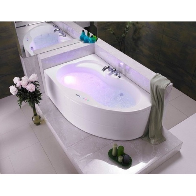 MISTRAL ванна 160x105,левая+ножки