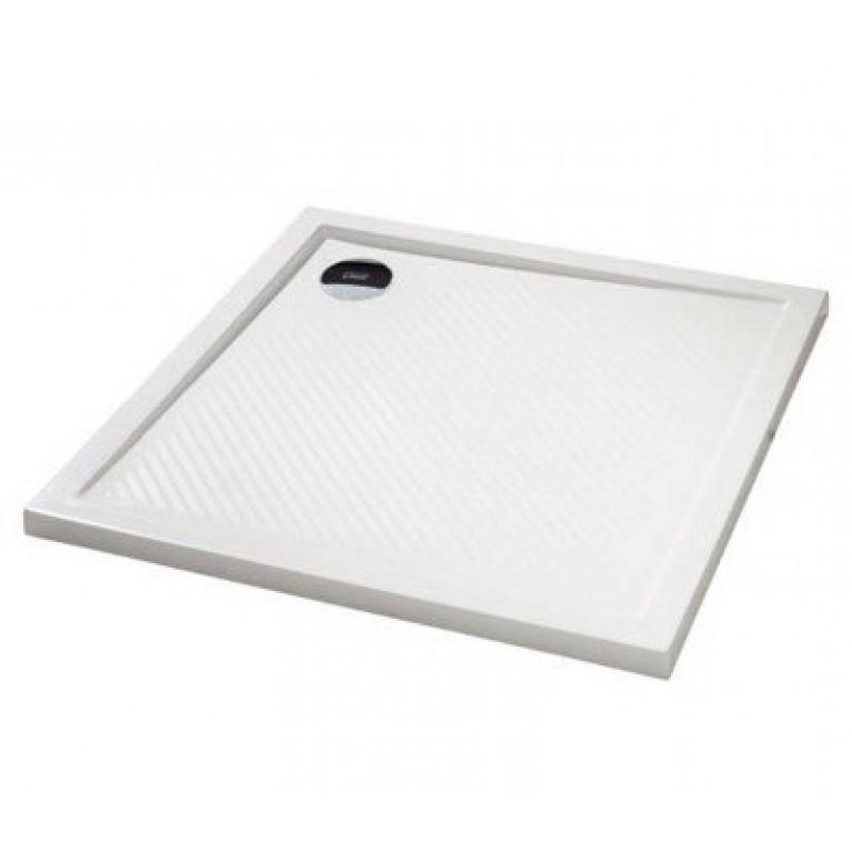 PURANO поддон квадратный 90*75 см, белый