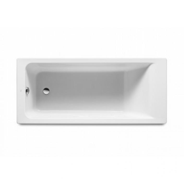 Купить EASY ванна 160*70см акриловая, белая, с ножками, объём 181л у официального дилера Roca в Украине