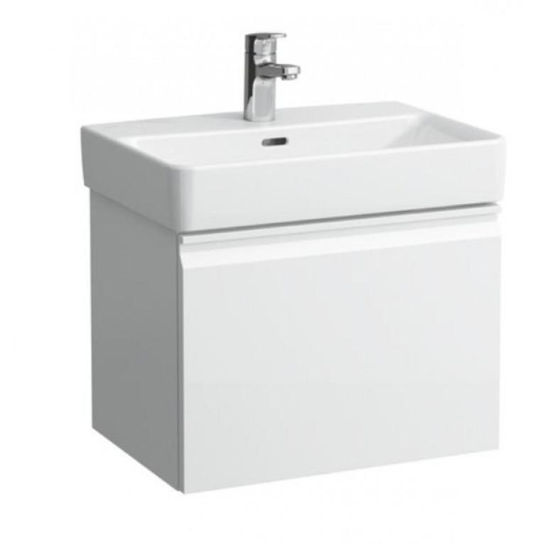 PRO тумба 47*45*39см, для умывальника H818951, с внутренним выдвижным ящиком, цвет белый глянец