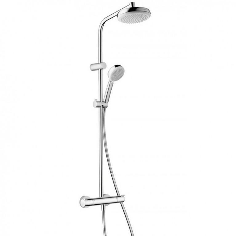 Showerpipe MyClub 180 Душевая система, с термостатом EcoSmart, фото 1
