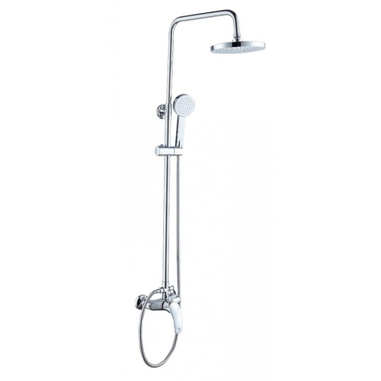 BARON  система душевая (смеситель для душа, верхний и ручной душ)