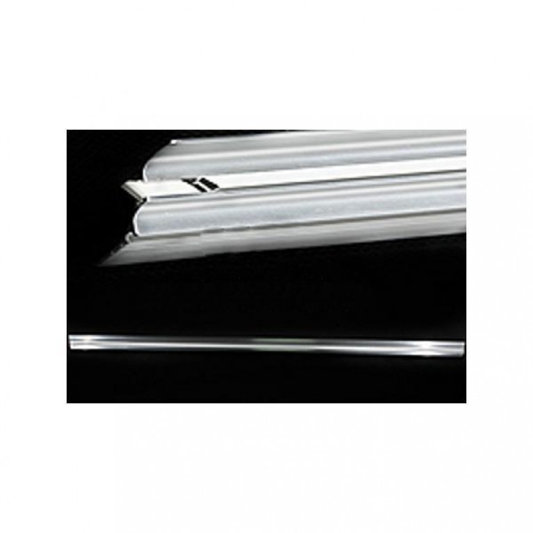 KOLO профиль блокирующий с уплотнителем, серебряный полуматовый, фото 1