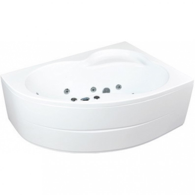 MISTRAL ванна 170*105см, правая, с системой гидромассажа Smart 2