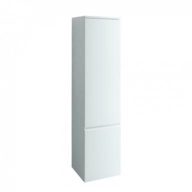 PRO шкаф высокий 350*335*1650, левый, подвесной, белый, фото 1