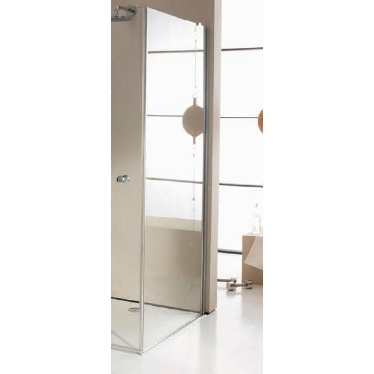 ENJOY ELEGANCE Стенка боковая для распаш. двери 100*200см. (стекло прозр Anti-Plague, профиль хром), фото 1