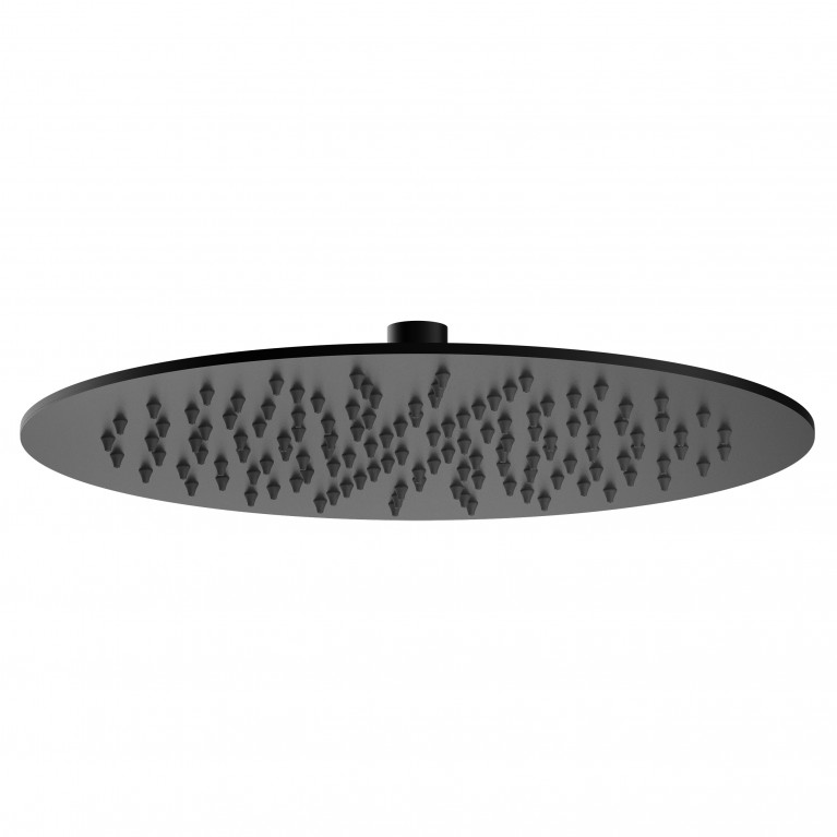 Душ верхний VOLLE 300х4 мм, черный мат