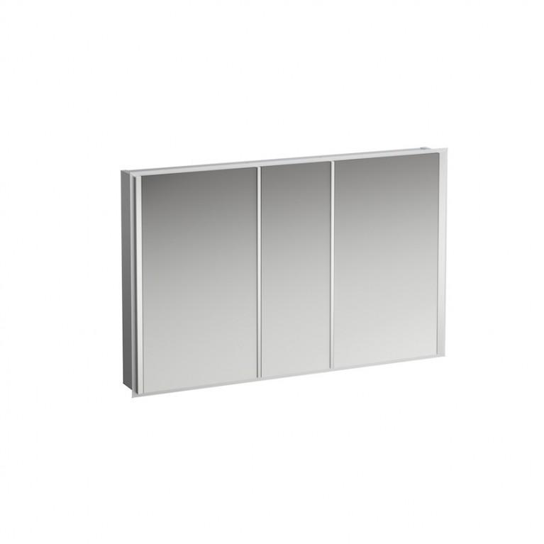 FRAME 25 шкафчик 120*75*15см, зеркальный, фото 1