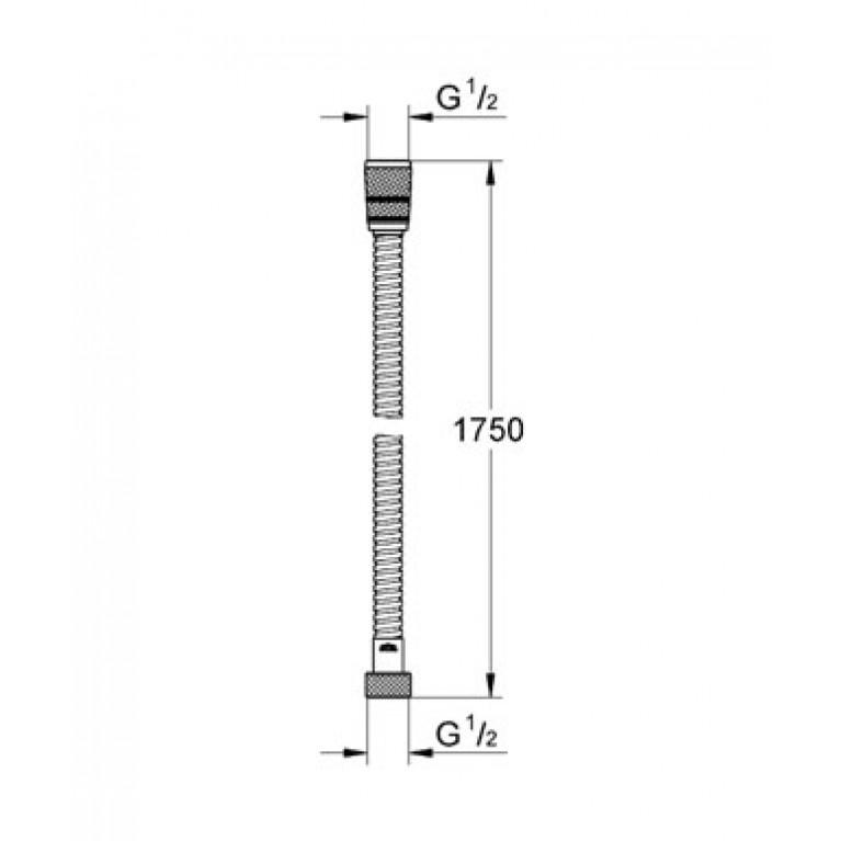 Rotaflex Душевой шланг 28025000
