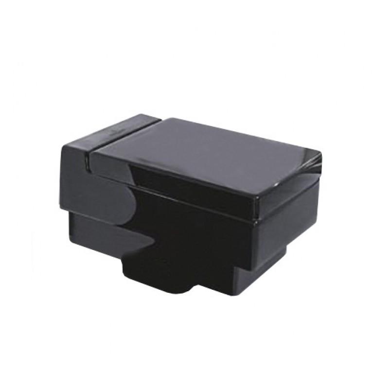 MEMENTO унитаз подвесной 37,5*56см (цвет черный глянец)