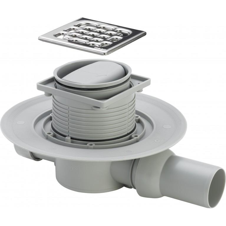 Купить Трап Advantix для ванной, сухой затвор, горизонтальный D50 (583217) у официального дилера Viega в Украине