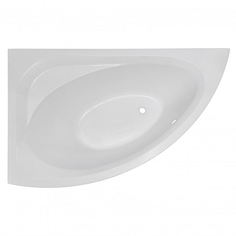 Ванна IMPRESE  BLATNA 150*90*49см асимметричная, левая, без ножек, акрил 6мм