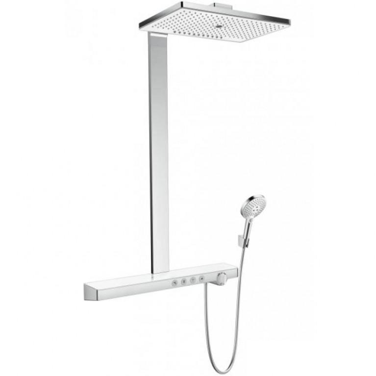 Rainmaker Select 460 3jet Showerpipe для душа, белый/хром