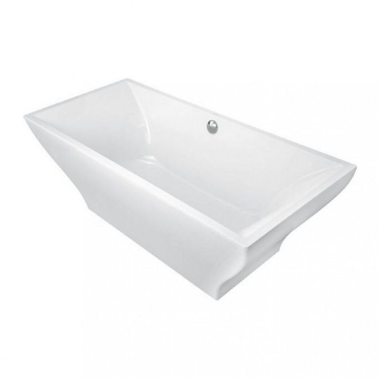 LA BELLE ванна 180*80см отдельно стоящая, включая панель (цвет белый)