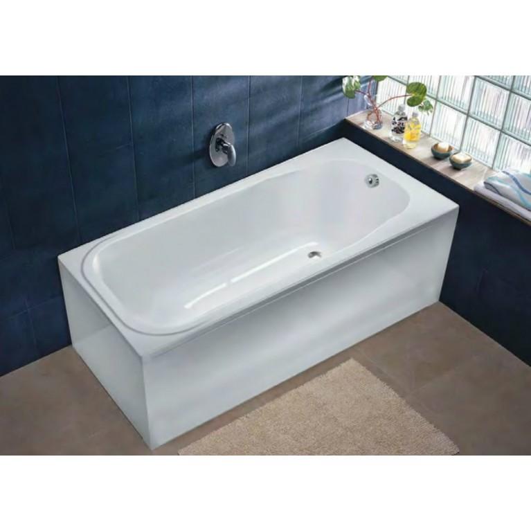 COMFORT PLUS ванна 170*75см, прямоугольная, с ножками, без ручек, фото 1