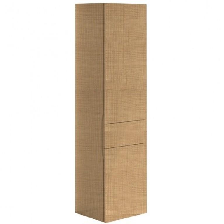 AVEO NEW GENERATION шкаф-пенал 40*153*35см, подвесной, петли справа, цвет Pure Oak, фото 1