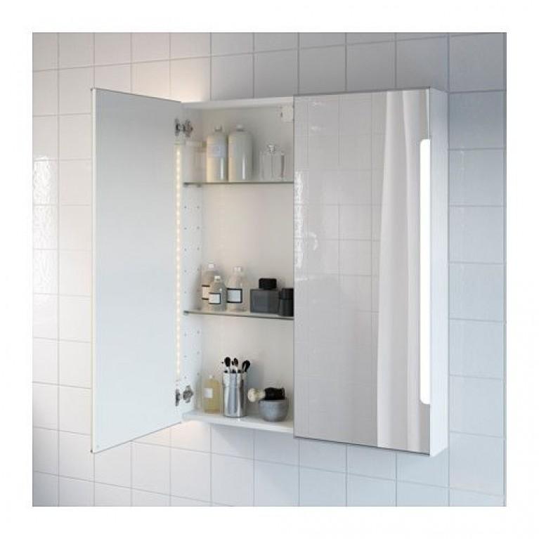 FOGO зеркальный шкафчик 80*74см, цвет белый мат FO967401818, фото 2