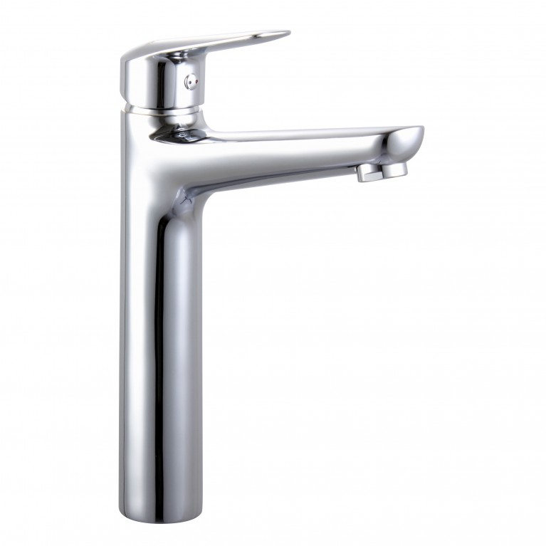 NEMO смеситель для раковины высокий, хром, 35 мм