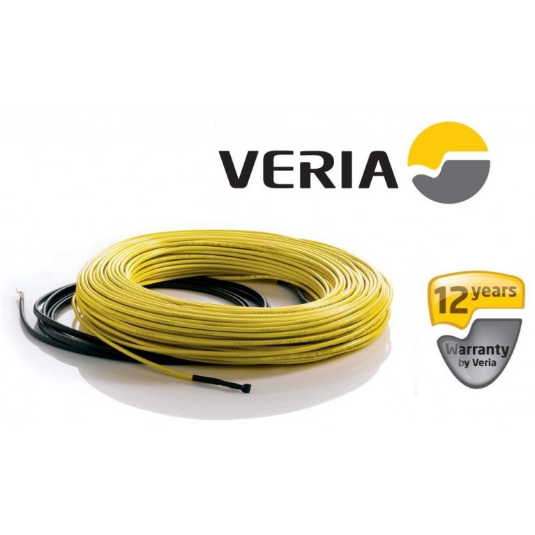Кабель нагревательный Veria Flexicable 20 2х жильный 1.2кв.м 197W 10м 230V