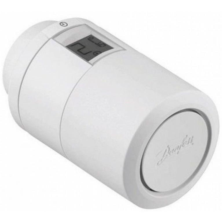 Danfoss Умная термоголовка Eco, Bluetooth, резьба М30 х 1.5, 2 x AA, 3V, белая
