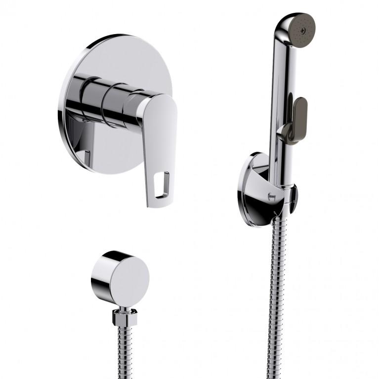 BENITA набор (смеситель скрытого монтажа с гигиеническим душем), фото 1