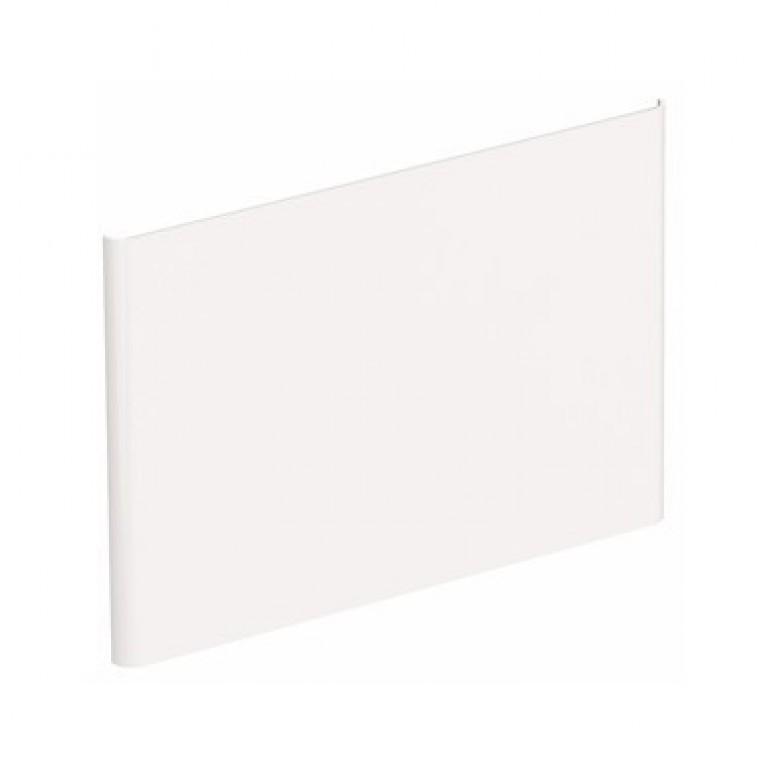NOVA PRO  панель боковая для умывальника 55см, белый глянец (пол)