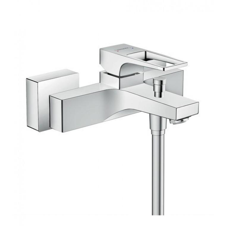 Metropol Смеситель для ванны однорычажный с петлеобразной ручкой, хром