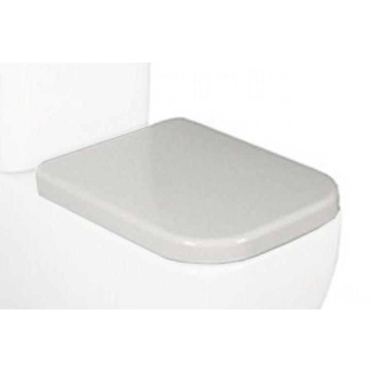 ORLANDO сиденье для унитаза твердое slow closing метал крепл (исп), фото 1