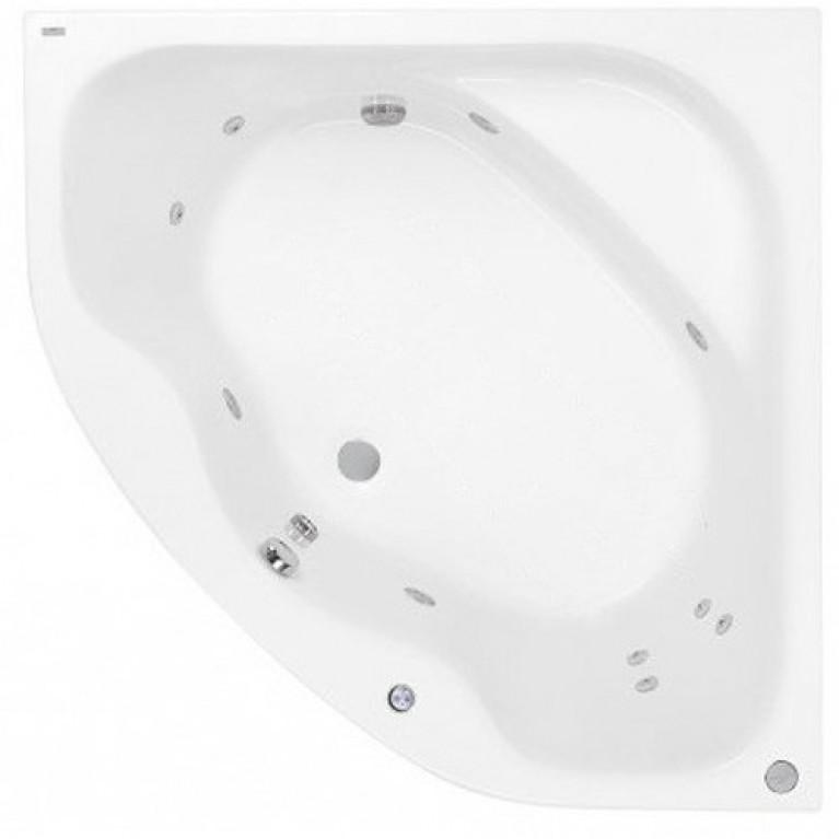 KLIO SYM ванна 140*140см, гидромассажная система Economy 1