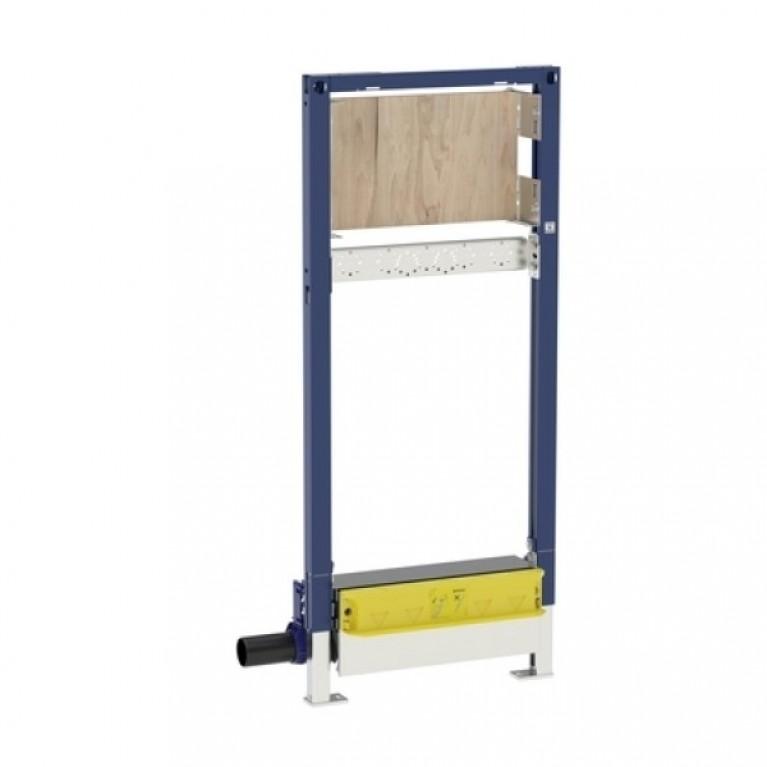 Duofix Душевой элемент с площадкой для монтажа смесителя, высота 130 см, выпуск 40 мм, низкая высота конструкции
