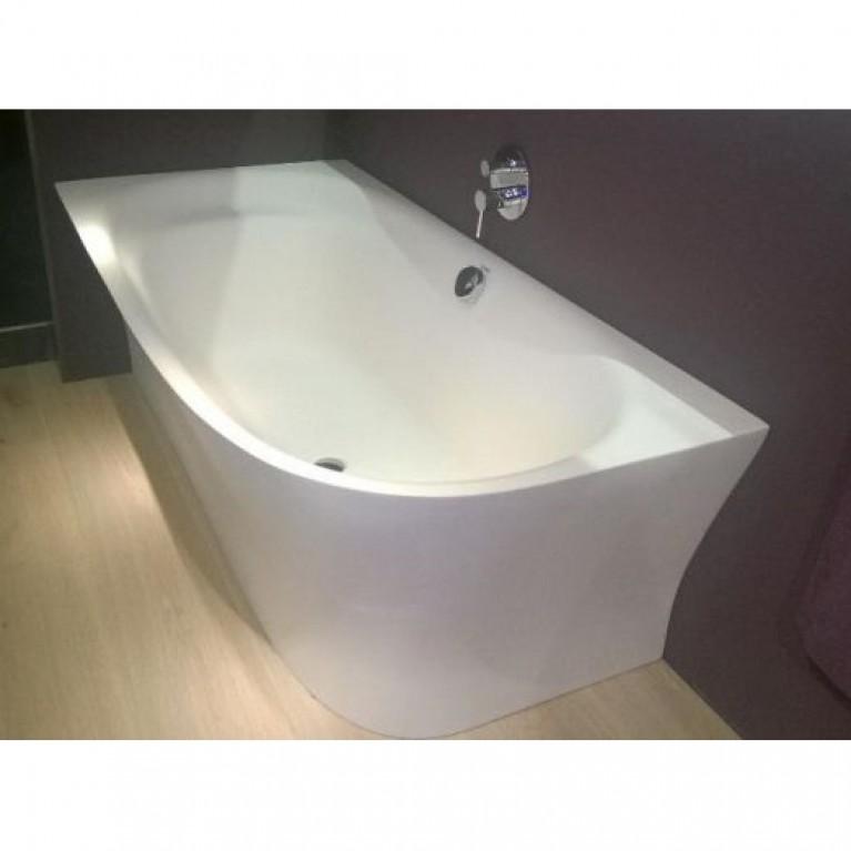 CAPE COD ванна 190*90*48,5см,  угол слева, с бесшовной панелью и ножками, с одним наклоном для спины 700362000000000, фото 2